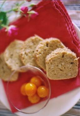 そば粉の蒸しパン